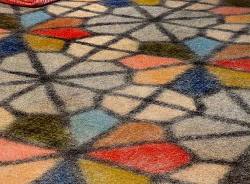 فرش نمدی