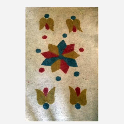 نمد فرش سنتی