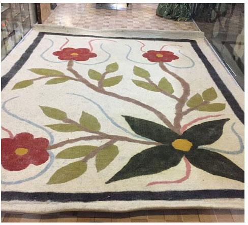 فرش نمدی سنتی