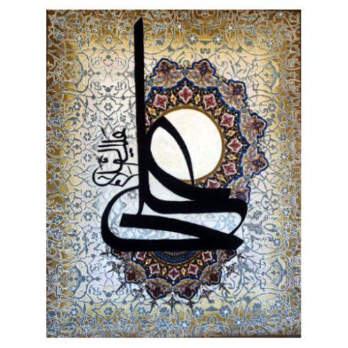 تابلو فرش دستباف باطرح علی علیه السلام