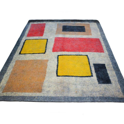 نمد فرش هفت متری گالری ماها