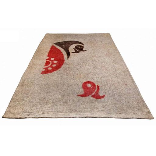نمد فرش 4متری طرح اسلیمی