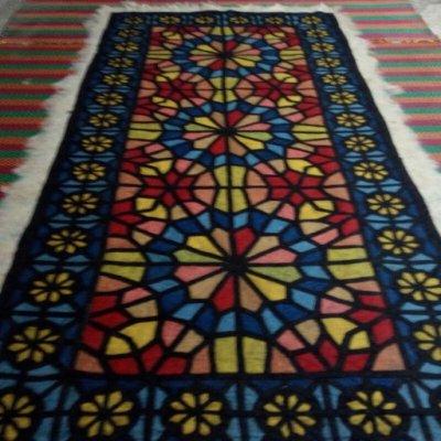 فرش نمدی مدرن