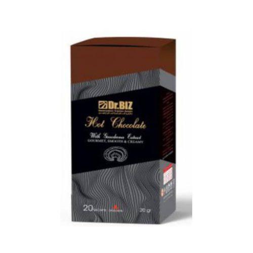 هات چاکلت گانودرما شکلات داغ دکتربیز 20 عددی