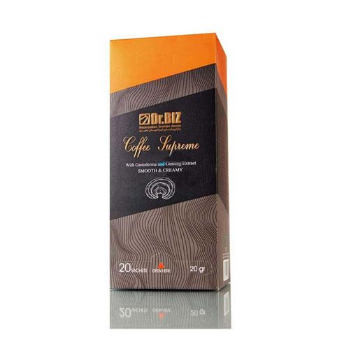 قهوه سوپریم گانودرما دکتر بیز 20 عددی