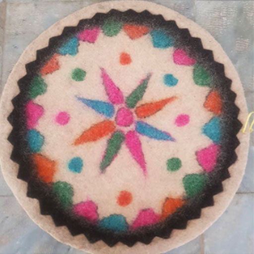 زیرانداز سنتی پشمی
