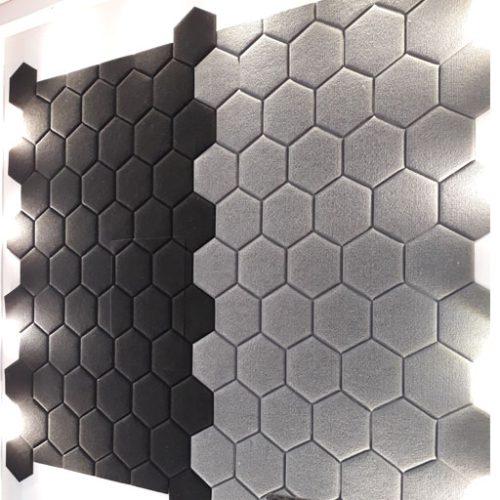 دیوار پوش سه بعدی نمدی یا وول پنل