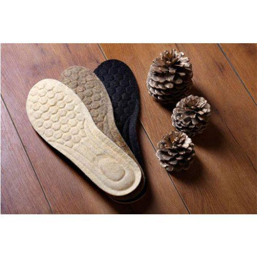 کفی کفش پشمی